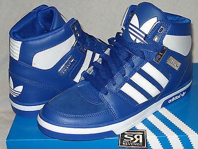 Blue Adidas Originals High Tops