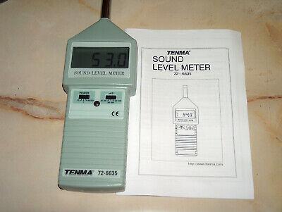 Tenma Sound Level Meter Model 72-6635