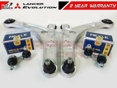 FOR MITSUBISHI LANCER EVO 7 8 9 FRONT LOWER LH RH SUSPENSION CONTROL ARMS LINKS