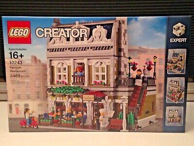 Lego Creator Parisian Restaurant 10243 New Sealed!