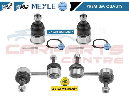 FOR HONDA ACCORD FRONT LOWER BOTTOM SUSPENSION ARM BALL JOINTS MEYLE HD LINKS
