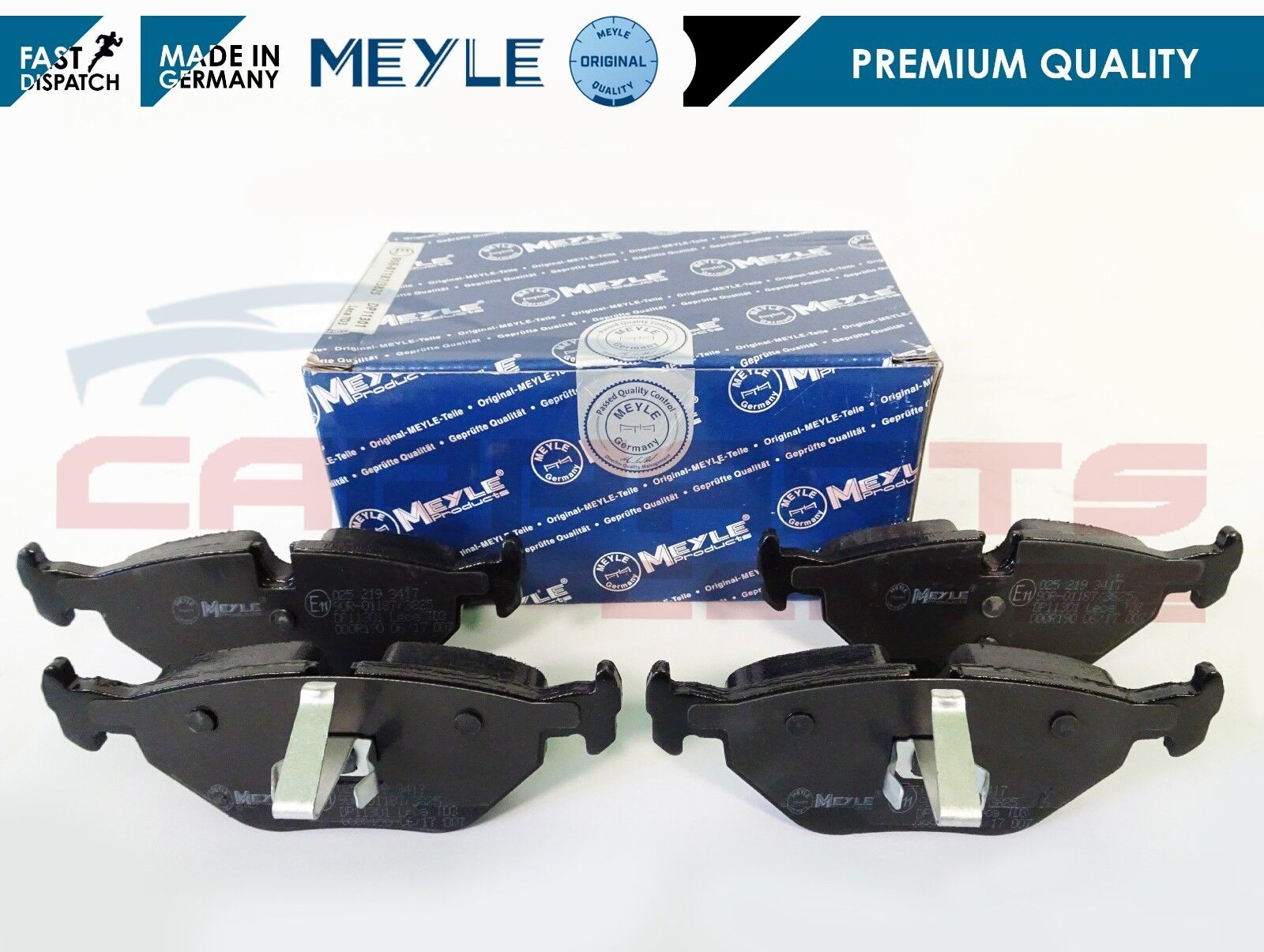 FRONT BRAKE PADS FIT MG MG ZT 01 /> 05 ROVER 75 TOURER 99 /> 05