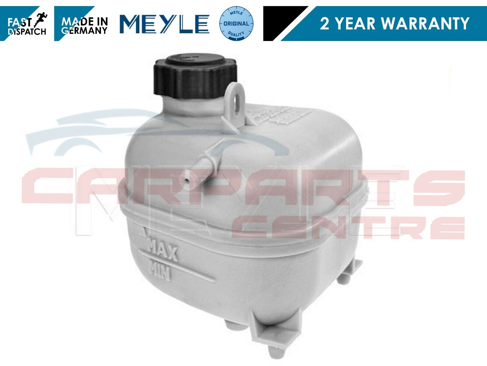 BMW MINI COOPER S COOLANT BOTTLE RESERVOIR TANK /& CAP R53 R52 2001-2006