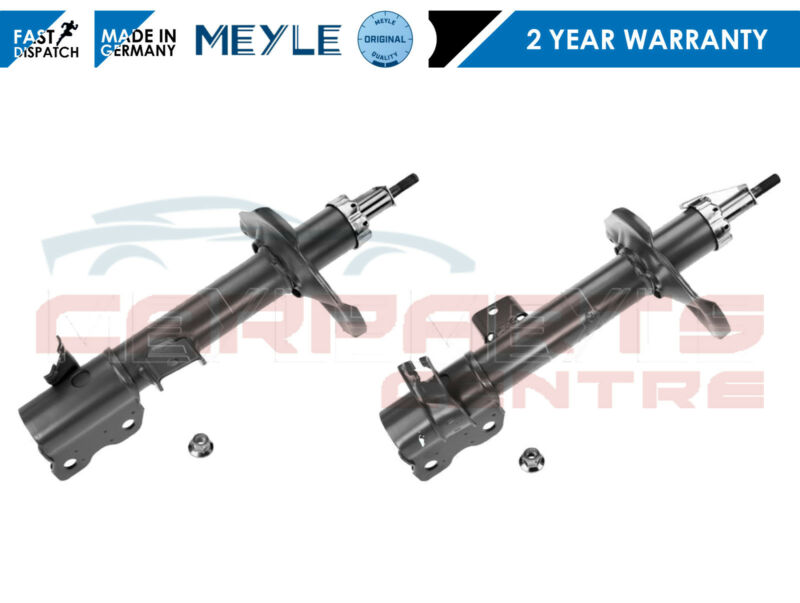 FOR NISSAN X TRAIL T30 01-07 MEYLE GERMANY REAR LEFT RIGHT SHOCK ABSORBER SET