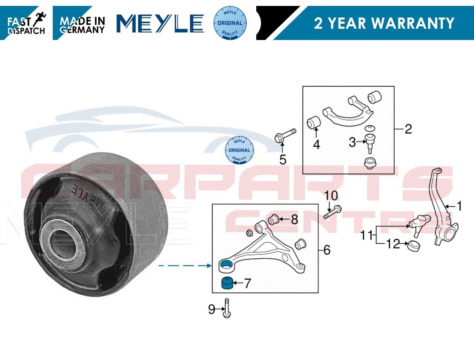 FOR HONDA HR-V 98-05 FRONT LOWER WISHBONE TRACK CONTROL ARM REAR BUSH