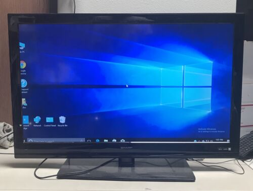 "Sharp LC-40LE431U 40"" 1080p HD LED LCD Television-NO REMOTE-LOCAL PICK UP"