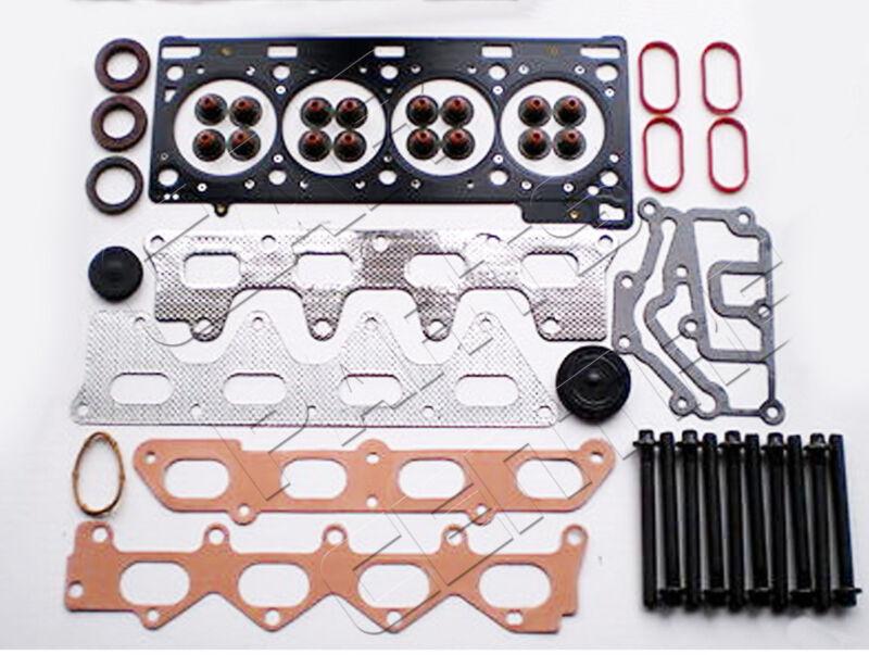 FOR RENAULT CLIO 172 182 2.0 16V SPORT F4R 00-06 CYLINDER HEAD GASKET BOLTS SET