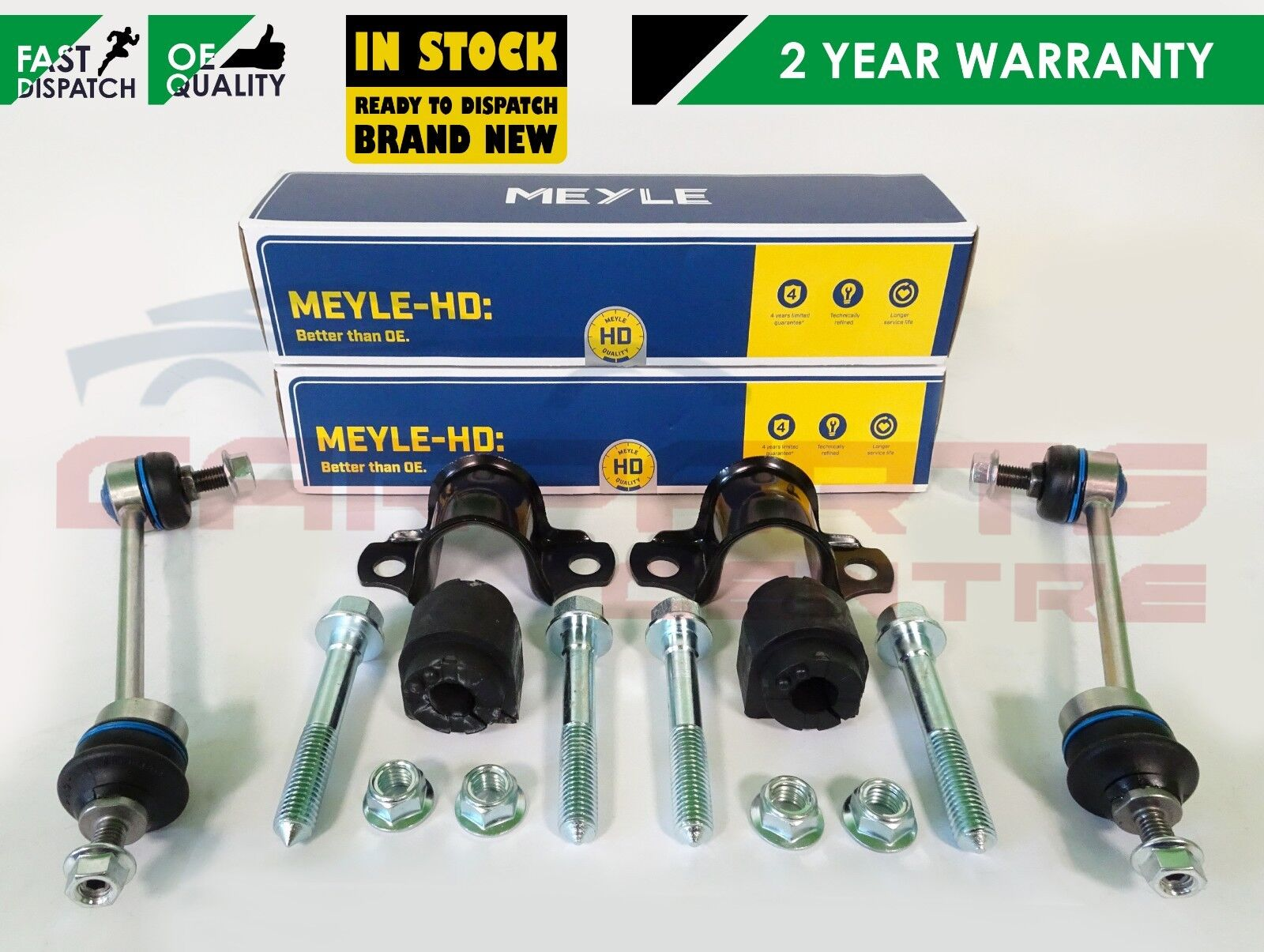 LAND ROVER FREELANDER  97-06 TWO FRONT LOWER ANTI ROLL BAR DROP LINKS