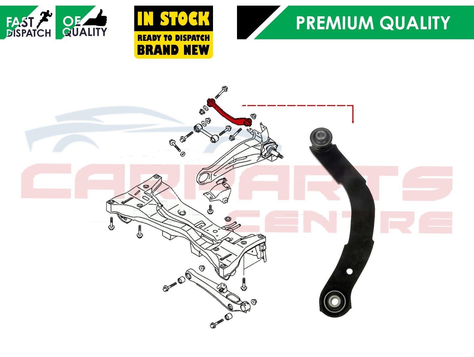 Rear Upper Suspension Control Arm fits 2010 Jeep Compass Set of 2