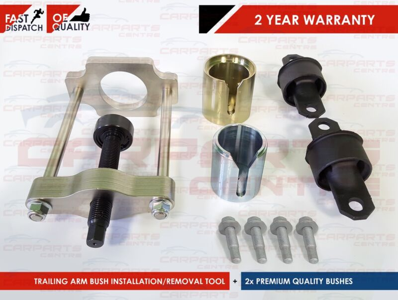 FOR FORD FOCUS MK1 98-04 REAR SUSPENSION TRAILING ARM BUSH REMOVAL TOOL BOLTS