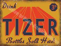 Vintage Alimentos, 99 , Tizer Retro Bebidas Refresco Café Pub Tienda Antigua, -  - ebay.es