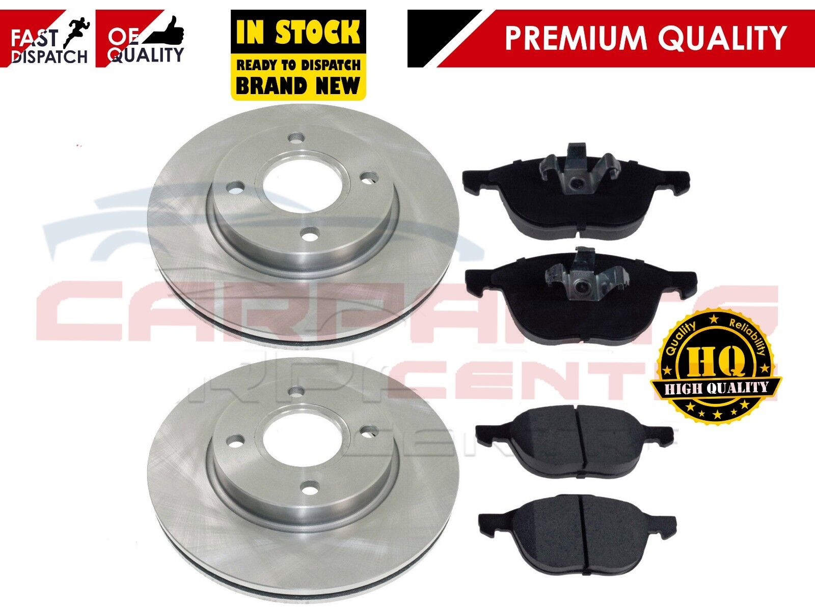 Branded Front Brake Pads Ford Focus and C-Max 03 on