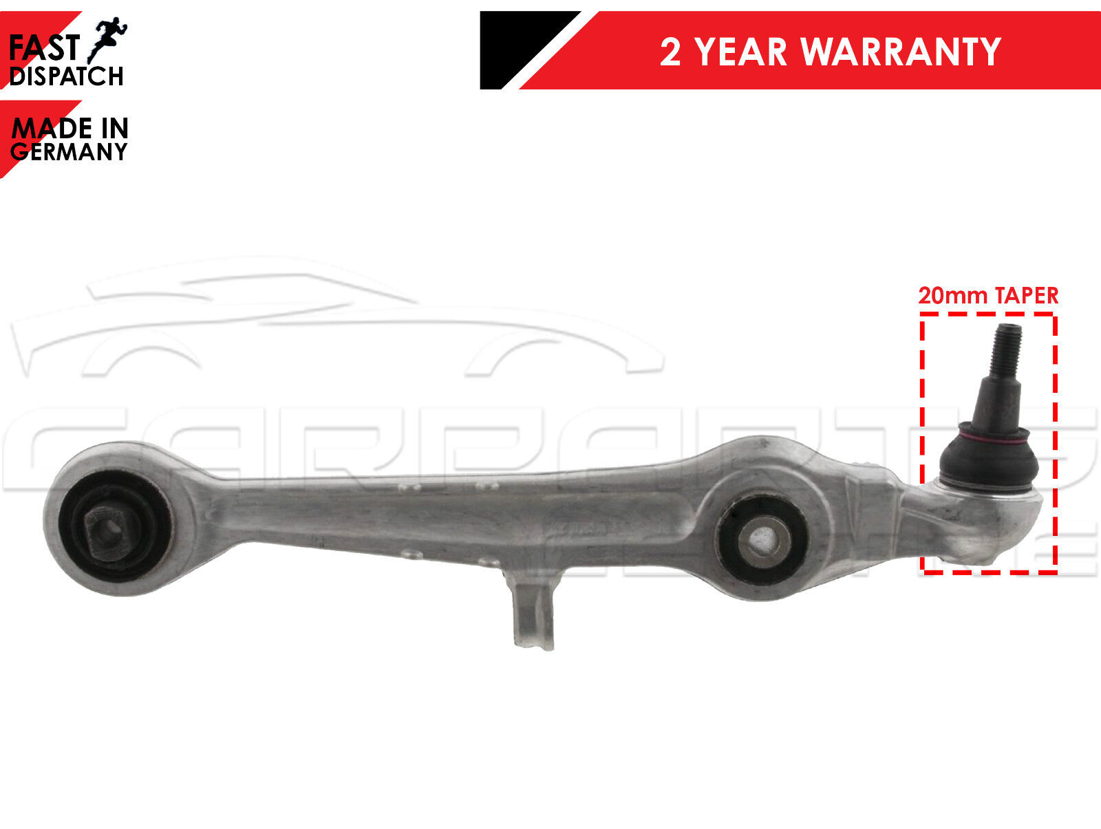 RIGHT FOR AUDI A4 A6 A8 FRONT LOWER SUSPENSION FRONT WISHBONE CONTROL ARM LEFT