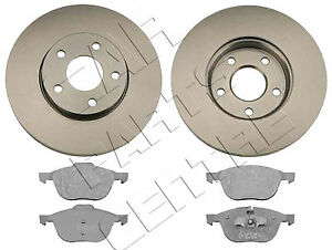 FOR FORD FOCUS MK2 2004- 1.6 1.8 2.0 TDCi FRONT VENTED BRAKE DISCS and PADS SET