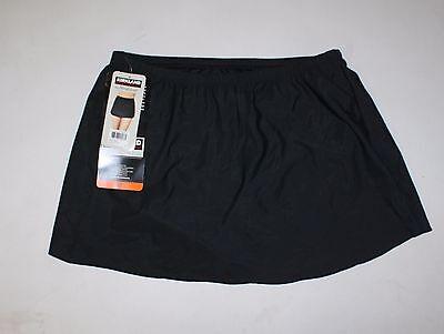 NWT Womens KIRKLAND MIRACLESUIT Black Swim Skirt Size 10