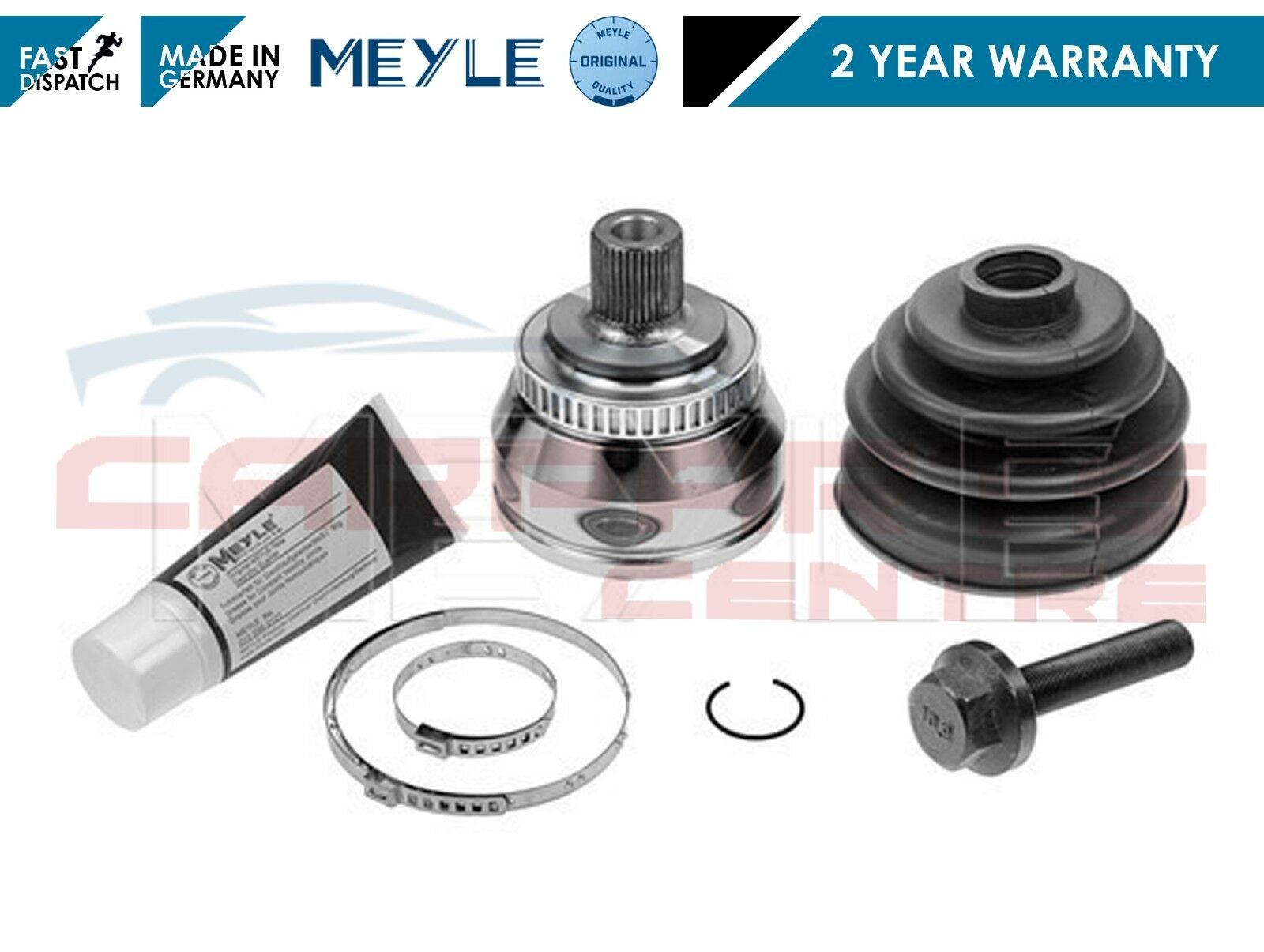 FOR VW SHARAN 1.9 TDi FRONT OUTER MEYLE GERMANY CV JOINT BOOT KIT CLIP 1995-2010