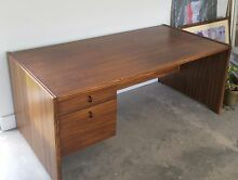 Solid timber executive office desk Sandringham Bayside Area Preview