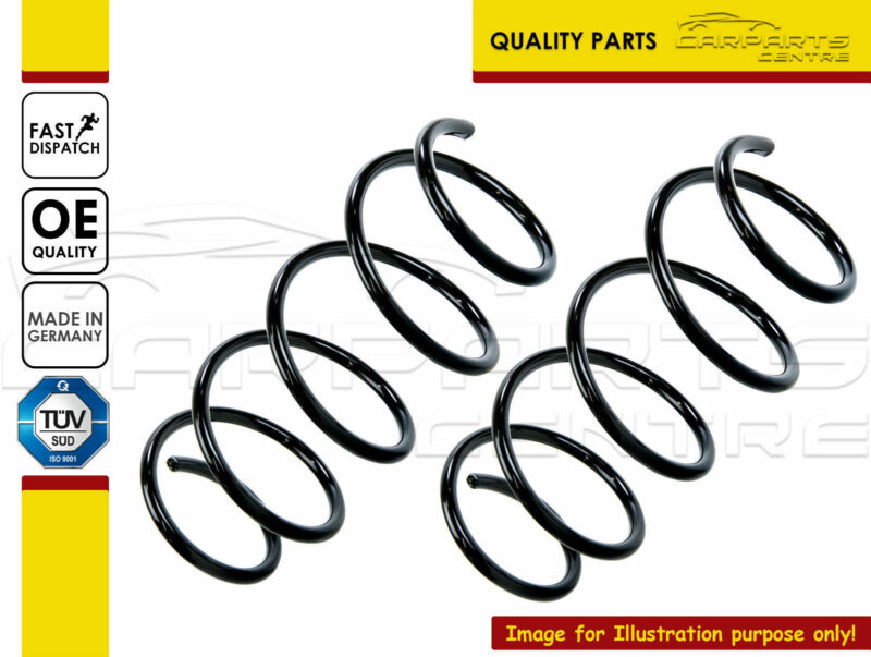 TOYOTA AURIS 1.5 NHW20 HATCHBACK REAR COIL SPRINGS SPRING PAIR MADE IN GERMANY