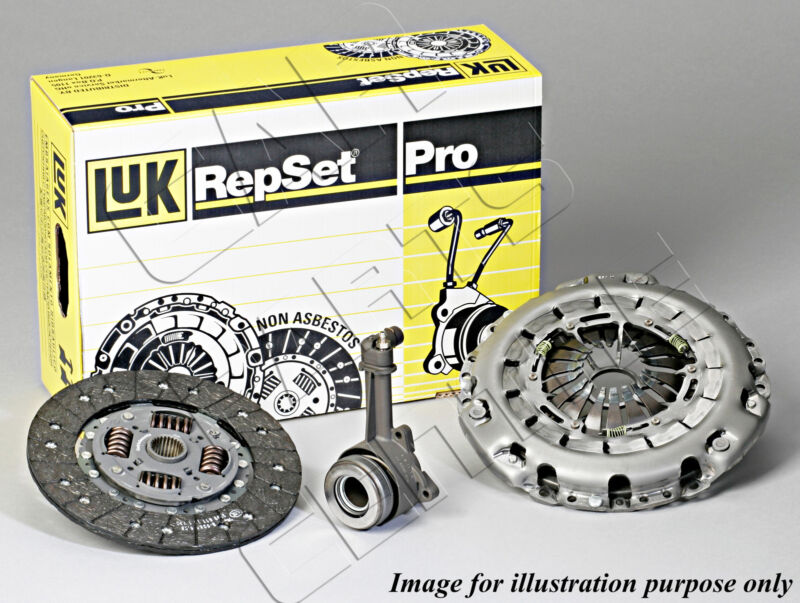 FOR VW TRANSPORTER 2.5 TDi 2003-2009 GENUINE LUK CLUTCH KIT AXE BPC 170 BHP NEW