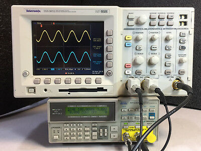 Tektronix Tds3052 2 Ch Dpo Oscilloscope 500mhz 5gss With New Lcd