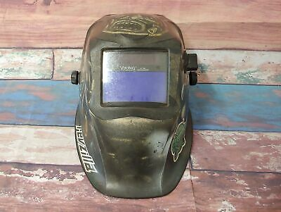 Lincoln Electric K4175-3 Viking Aztec Auto Darkening Welder Welding Helmet 1840