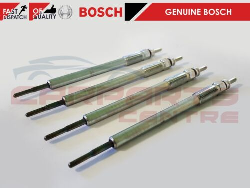 FOR TOYOTA AVENSIS COROLLA VERSO RAV 4 2.0 2.2 D4D IS220D GLOW PLUGS BOSCH