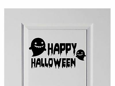 LARGE Happy Halloween Vinyl Decal Sticker Decor for Home