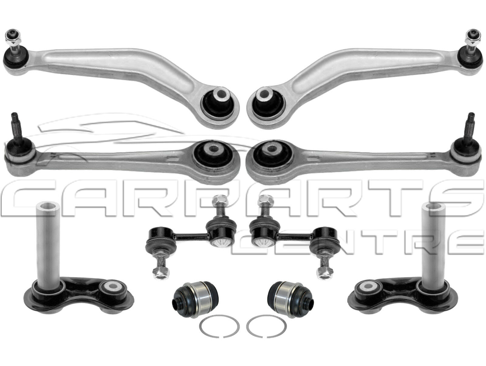 REAR SUSPENSION CONTROL ARMS KIT WITH LINKS FOR BMW 5 SERIES  E39