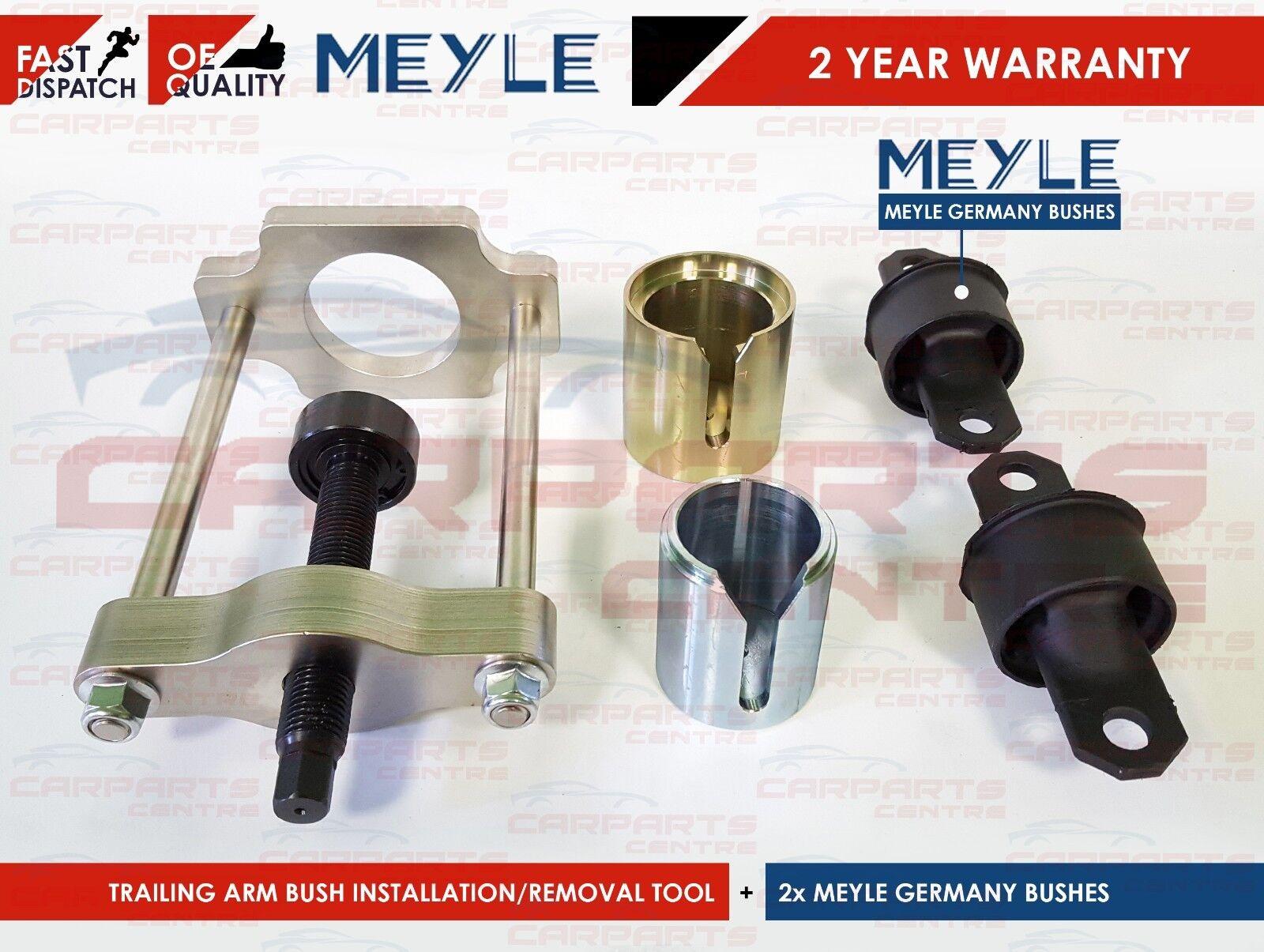 Removal Install Rear Wishbone Trailing Arm Bush Tool Ford Focus mk2 Kuga,C-Max,