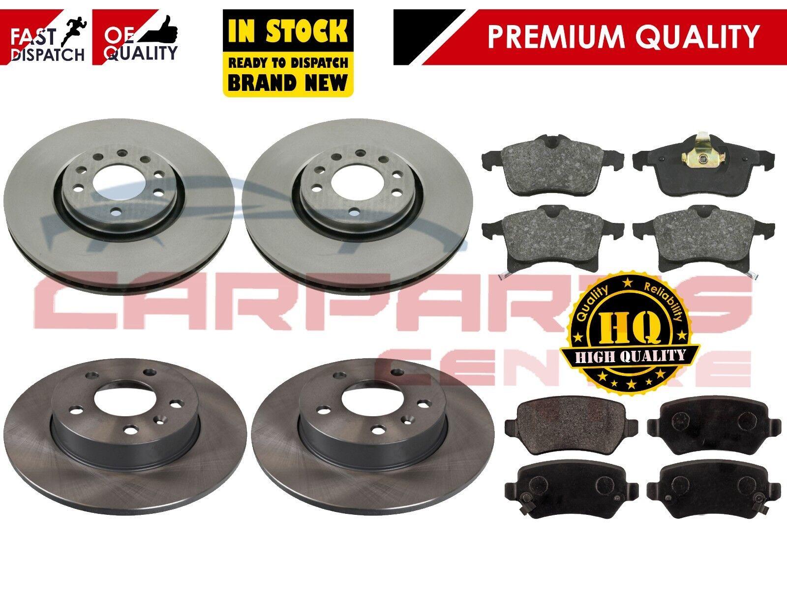 For Vauxhall Zafira MK2 2005-2011 Rear Brake Discs /& Brake Pads NEW