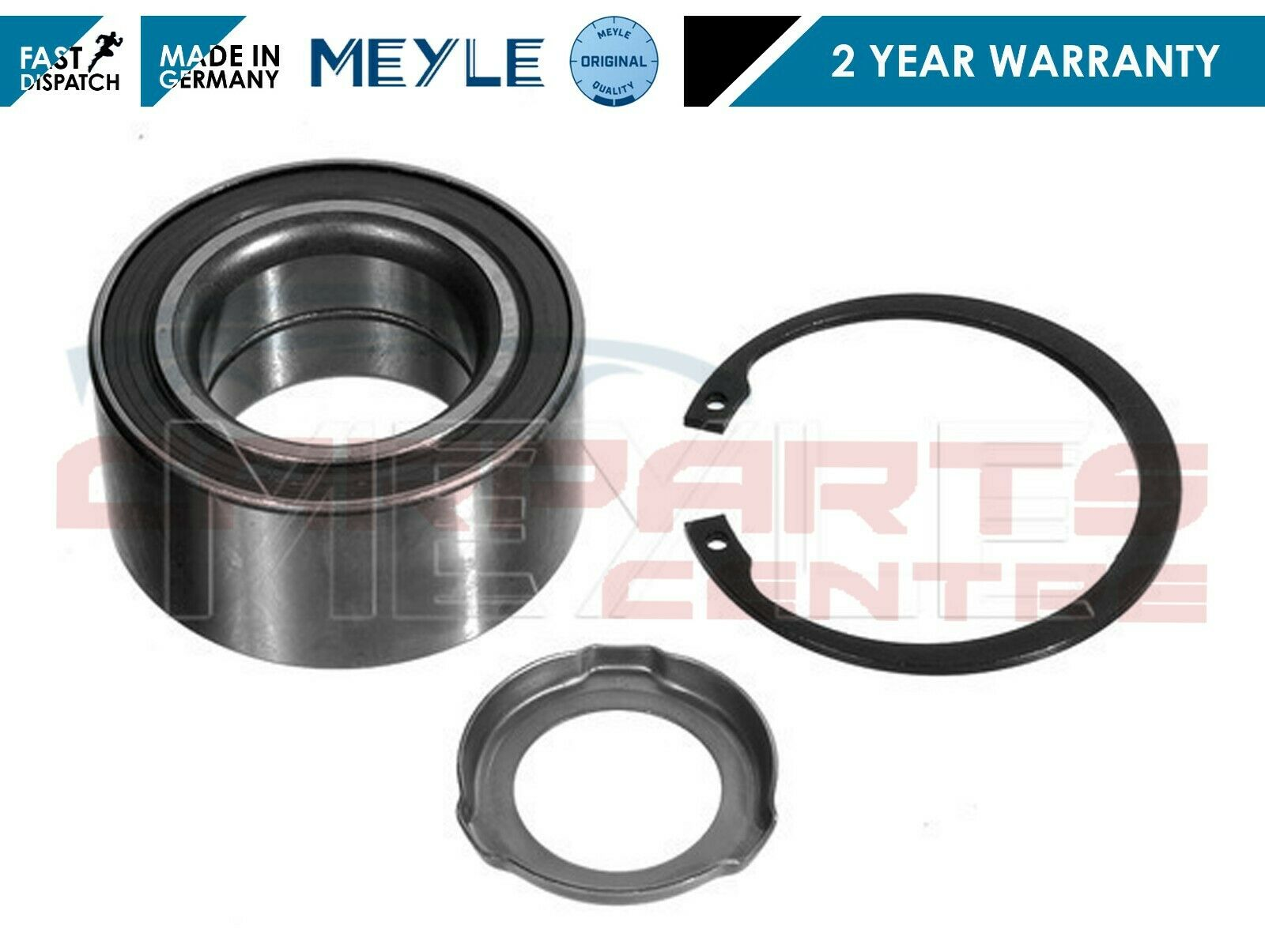 Wheel Bearing Kit fits BMW 330 E46 Front 3.0 3.0D 99 to 07 With ABS FAG Quality
