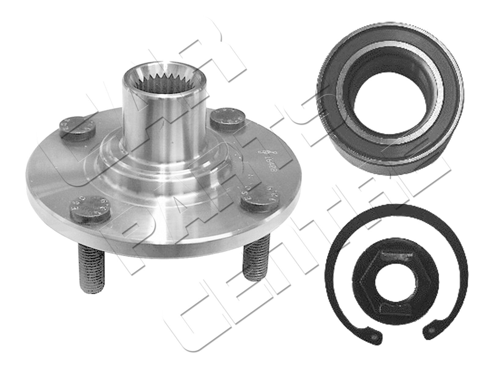 Focus I Non Abs Front Wheel Bearing Ford Fiesta MK5