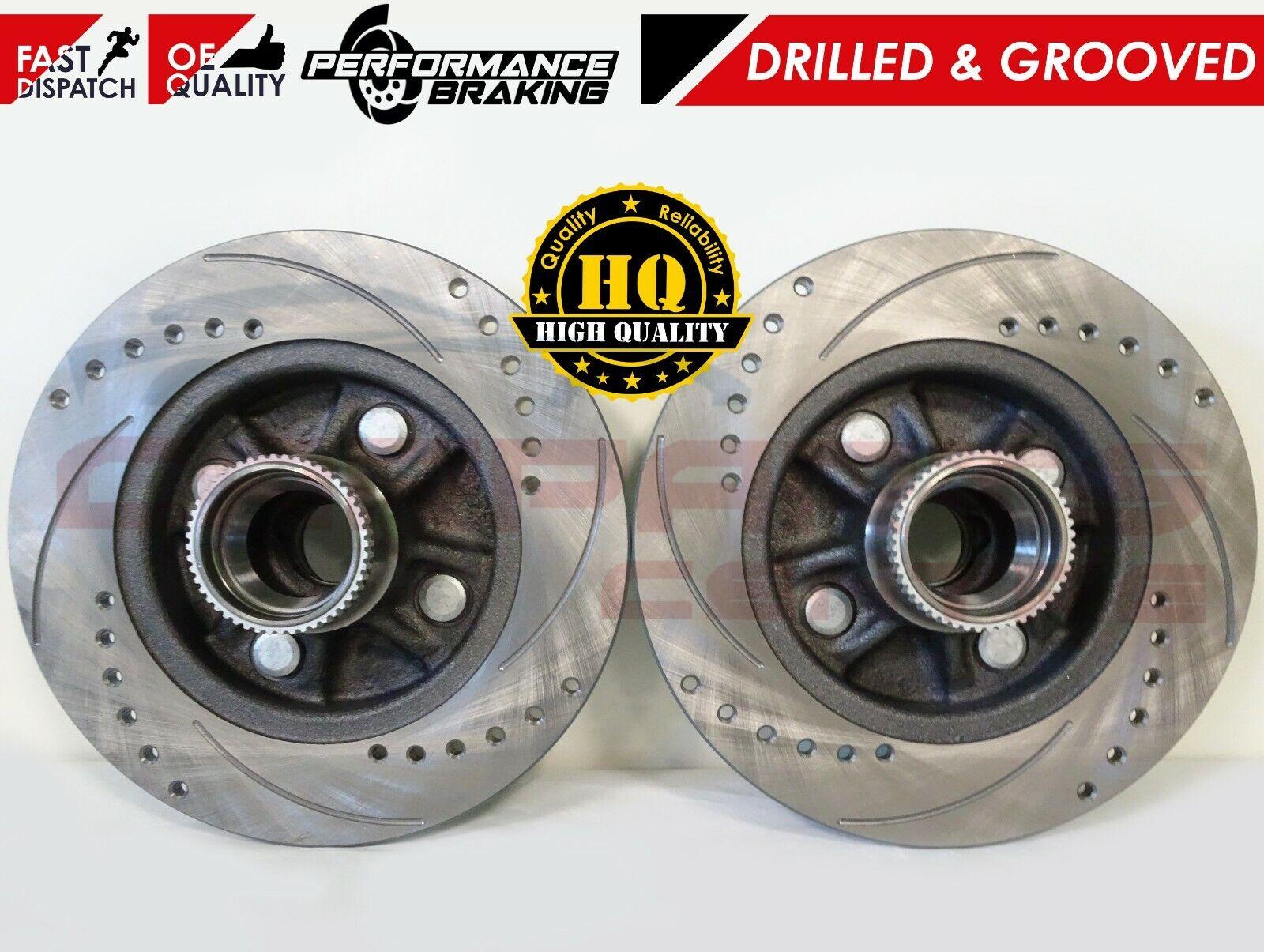 2 Brake Discs Rear Vented Fits Impreza 2.0 00-06