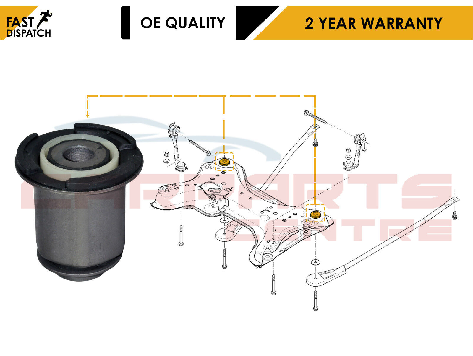 For Nissan Primastar Renault Trafic Control Suspension Arm Lower Front Left