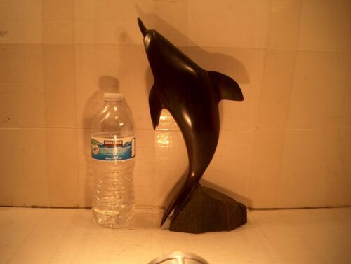 IRONWOOD DOLPHIN - 12 INCHES TALL