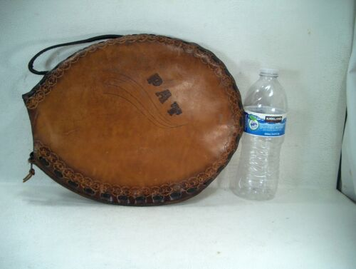 RACQUET LEATHER COVER - PAT NAME