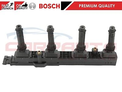 FOR VAUXHALL ASTRA G H ZAFIRA A B 2.0 2000-2010 GENUINE BOSCH IGNITION COIL PACK