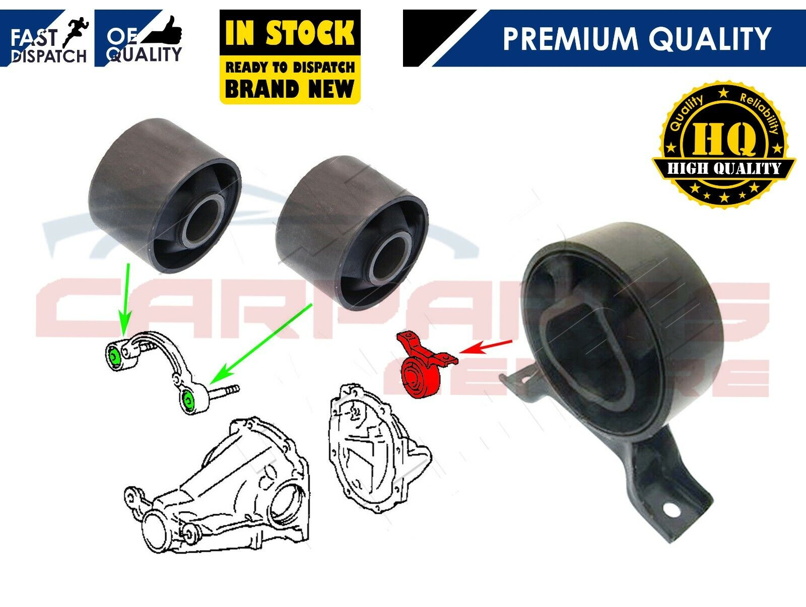 Toyota Rav4 Front Diff Arm Support Bush Differential Rav 4