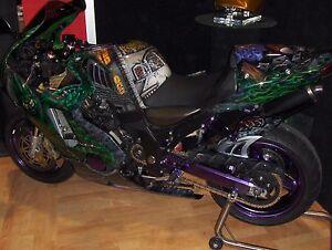 'Green Goblin' Kawasaki 2000 ZX12R
