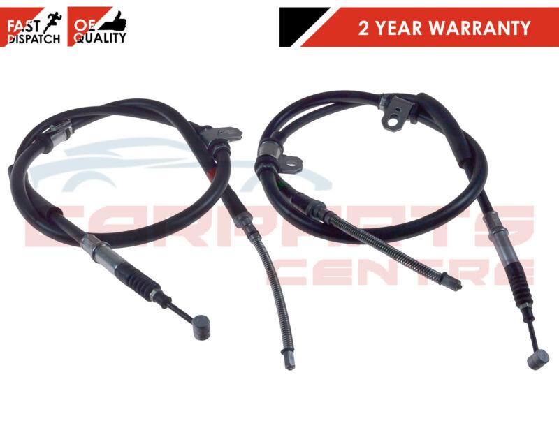 FOR HYUNDAI TRAJET FO 2.0 CRDi 2.7 V6 2000-2004 REAR LEFT RIGHT BRAKE CABLES