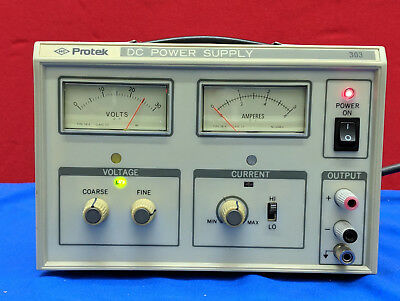 Protek 303 Dc Power Supply Item Is Used