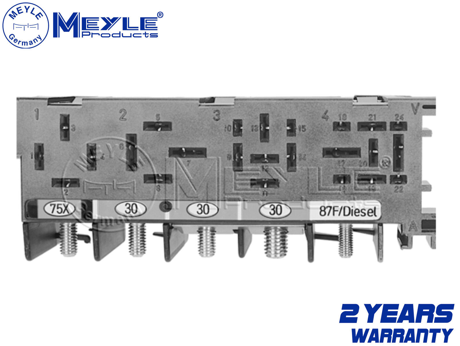 For Vw Audi Skoda Fuse Box 12v Brand New Meyle Germany 8l0941822a Yeti 8l0 941 822 A