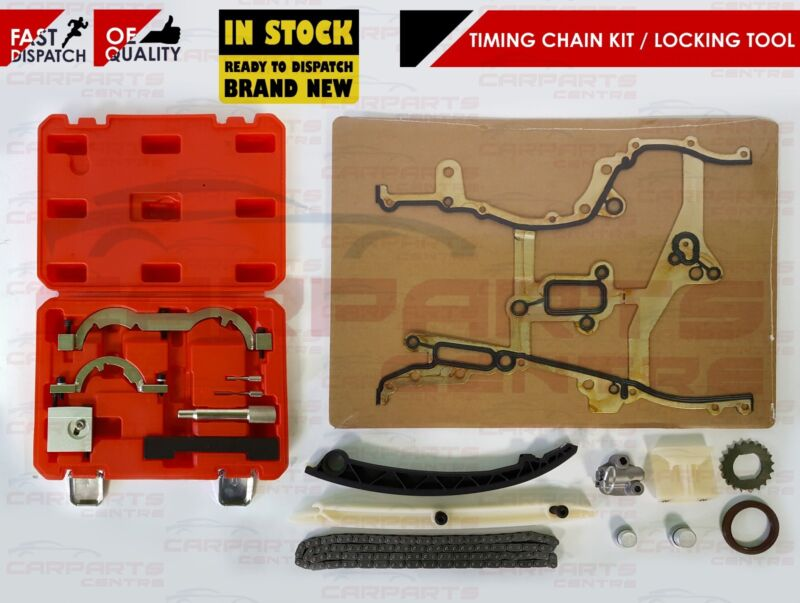 FOR VAUXHALL ADAM 1.2 2012- NEW ENGINE TIMING CHAIN & TOOL KIT A 12 XEL A12XEL