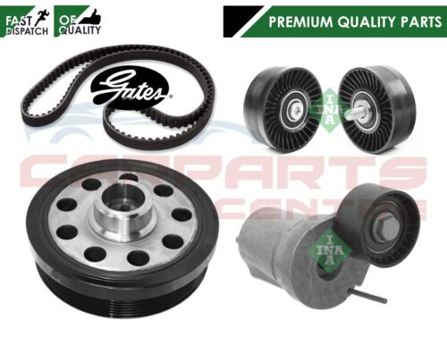 FOR BMW 120d 320d 520d DIESEL TVD CRANK SHAFT CRANKSHAFT PULLEY TENSIONERS BELT