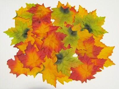 �nstlich Streu Tisch DEKO Herbst Pflanze Laub Ahorn Blatt  (Herbst Dekoration)