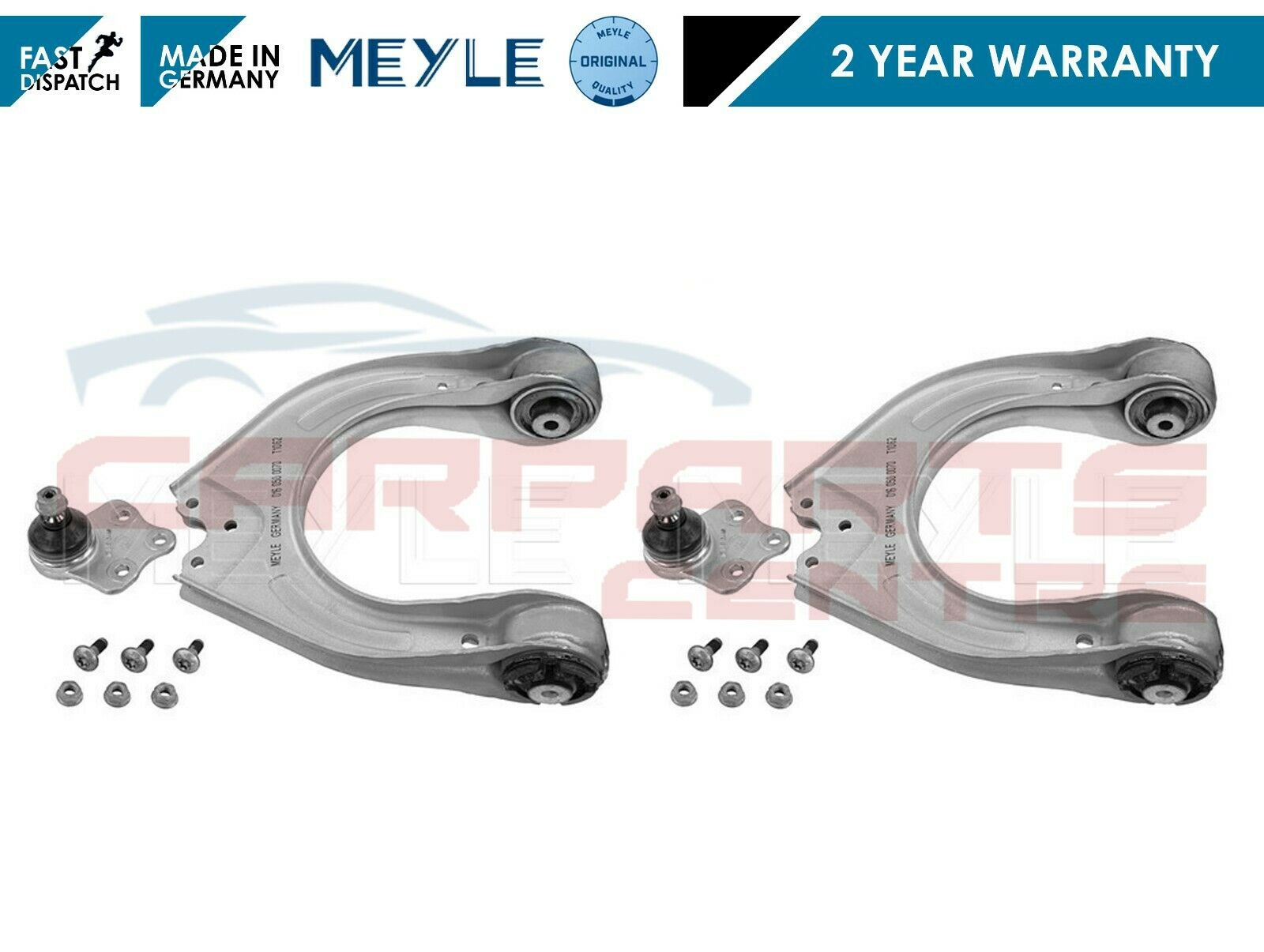 For Mercedes W211 W219 Pair Set of Front Left or Right ABS Speed Sensors Meyle