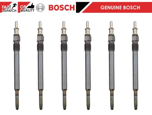 FOR VARIOUS MERCEDES BENZ 6x BOSCH DIESEL HEATER IGNITION GLOW PLUGS 0011592801