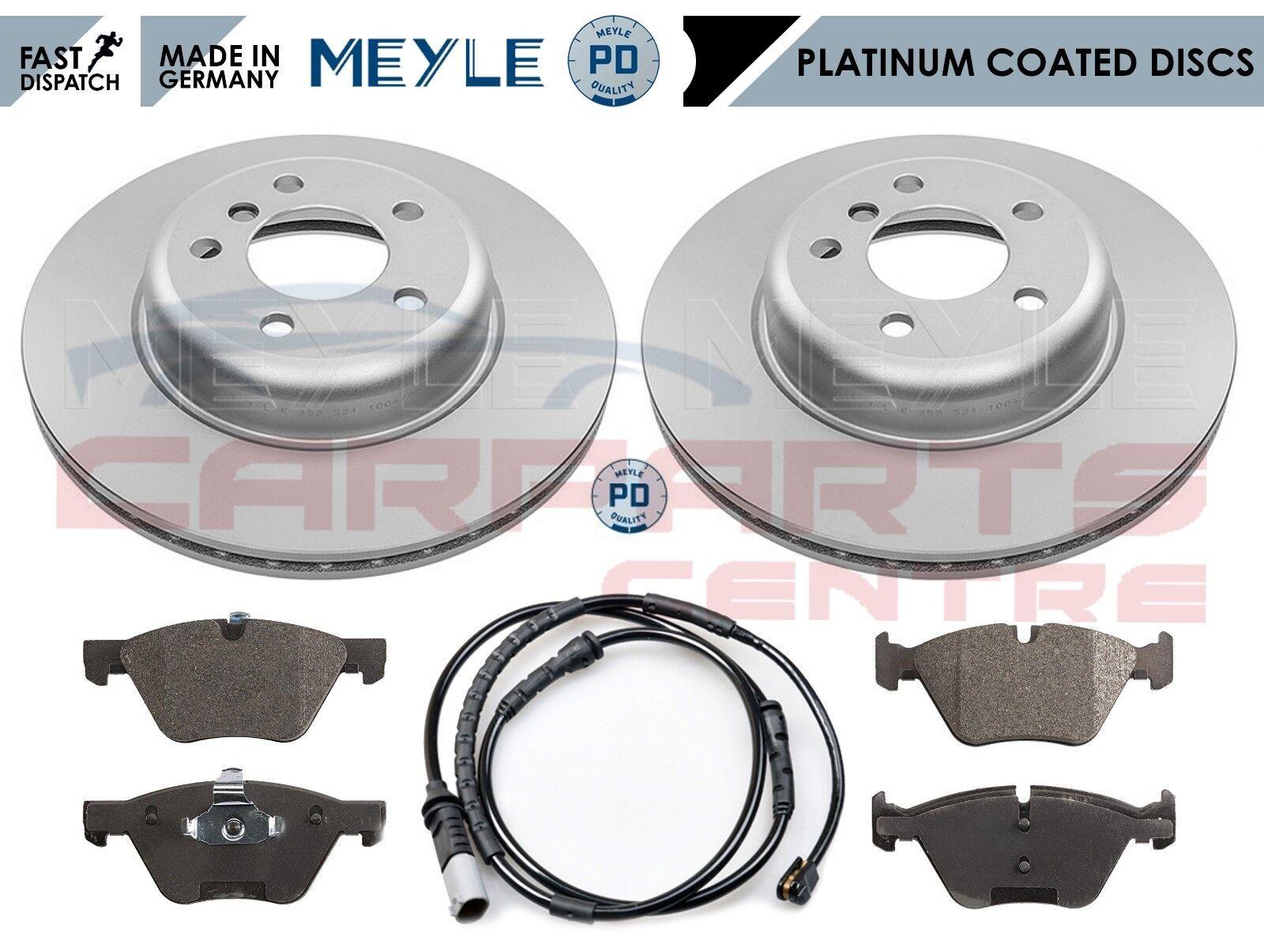 FOR BMW 5 SERIES E39 FRONT REAR MEYLE PLATINUM BRAKE DISCS PAD SET HAND SHOES