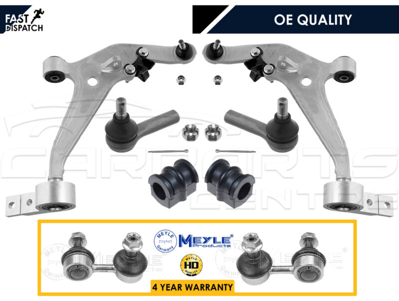 FOR NISSAN X-TRAIL T30 FRONT WISHBONE CONTROL ARMS LINKS TRACK ROD ENDS D BUSHES