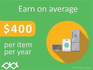 Earn income each month for your washing machines with 2ndLease Upper Mount Gravatt Brisbane South East Preview